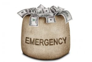 Emergency fund lending money