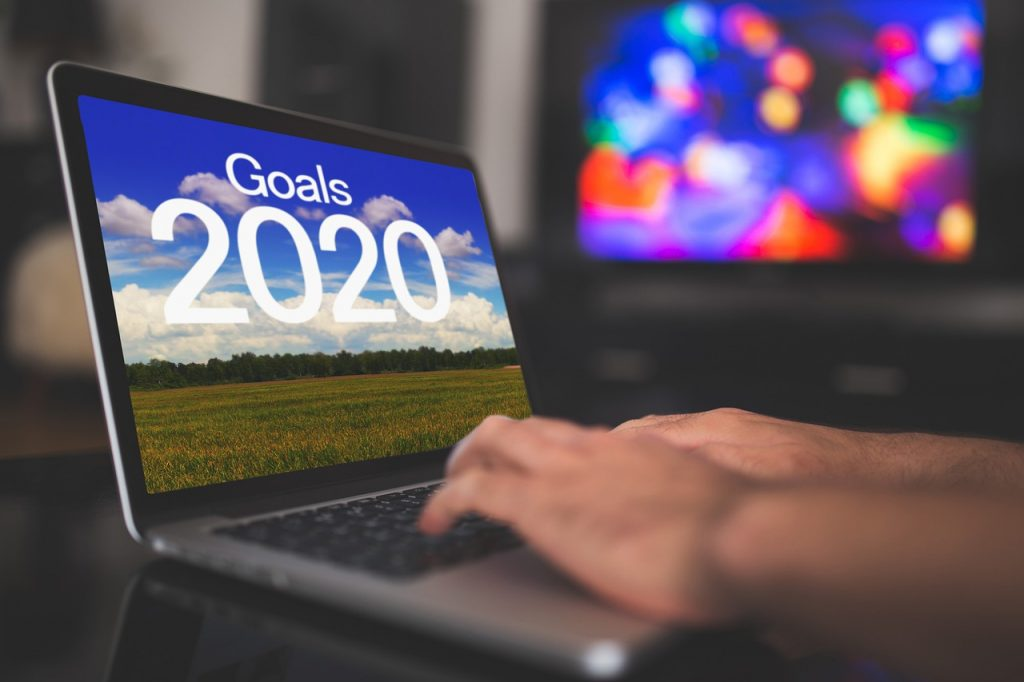 New Year resolutions goals 2020