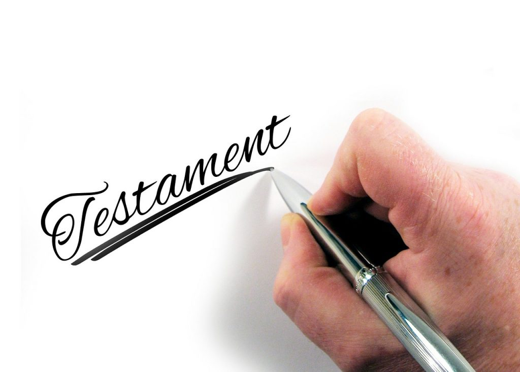 testament last will